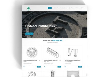 Trojan Industries Web Project